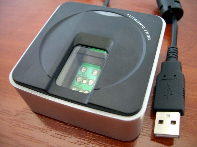 Futronic FS88 / FS88H FIPS201/PIV Compliant USB2 0 Fingerprint Scanner