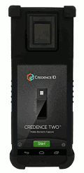 CredenceTWO-R device with multimodal biometrics, general view