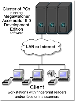MegaMatcher Accelerator 9.0 Development Edition cluster