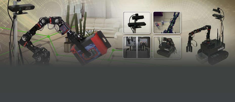 SentiBotics in Gazebo Robotics Simulator and Video Tutorials