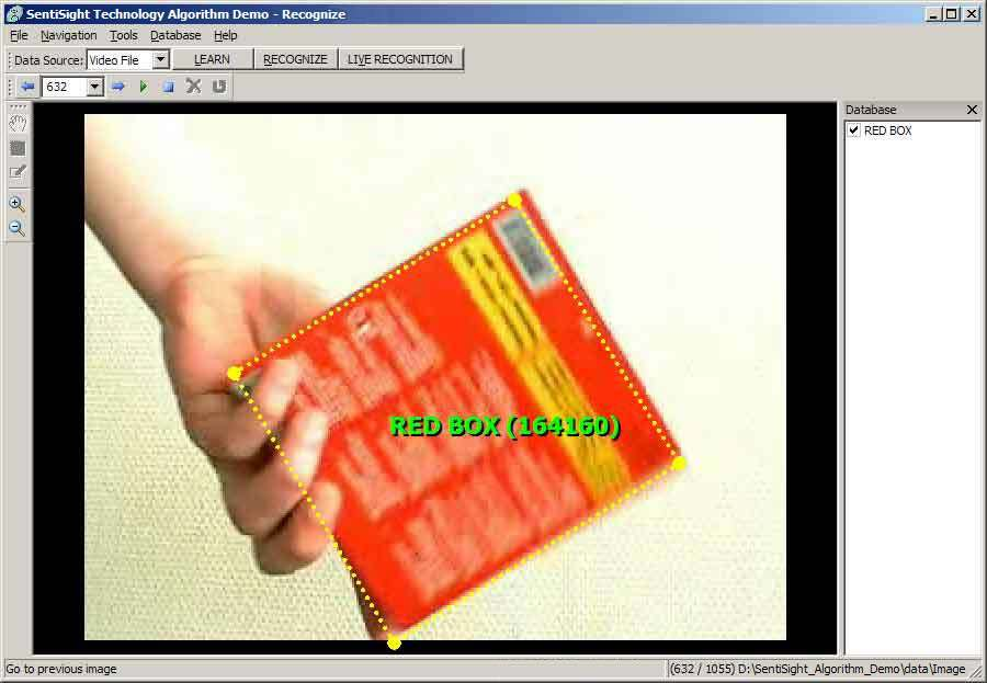 Click to view SentiSight algorithm demo for Windows 3.0 screenshot